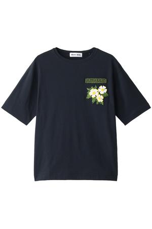【MUVEIL WORK】ワッペンTシャツ ミュベール/MUVEIL