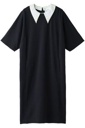 刺繍襟付オーバーワンピース ミュベール/MUVEIL