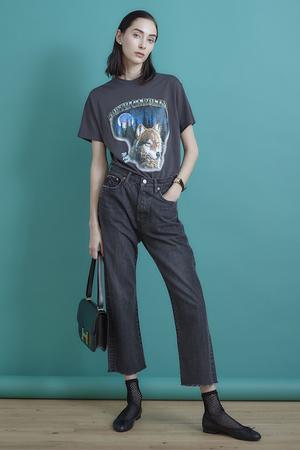 【予約販売】wolf プリントTシャツ