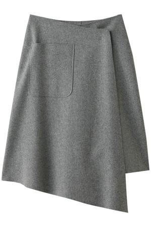 メルトンラップスカート ミハラ ヤスヒロ/MIHARA YASUHIRO