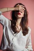 スター刺繍カシュクールシャツ ビューティフルピープル/beautiful people