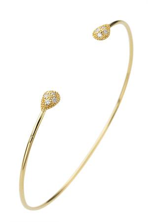 【受注生産】ドロップパヴェ ブレスレット アヤミ ジュエリー/AYAMI jewelry