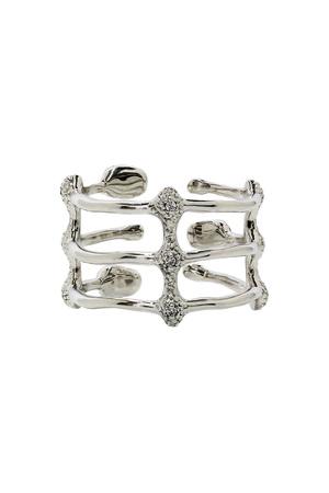 【受注生産】ボタニカルモチーフリング アヤミ ジュエリー/AYAMI jewelry