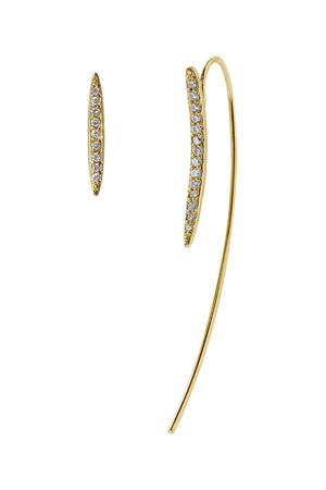 【受注生産】アシメトリーカーブピアス アヤミ ジュエリー/AYAMI jewelry