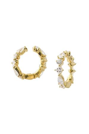 ジルコニア キャッチイヤリング アヤミ ジュエリー/AYAMI jewelry