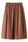 ウールカシミアギャザースカート サクラ/SACRA