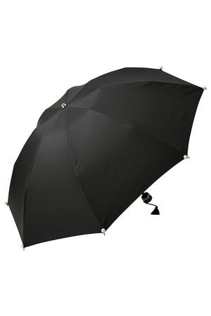 Marilyn パール付き折り畳み晴雨兼用傘
