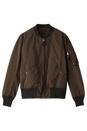 PE/NY高密度タフタ 製品染めボマージャケット サイ/Scye