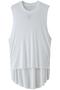 バックロングTシャツ ドゥーズィエム クラス/Deuxieme Classe ホワイト