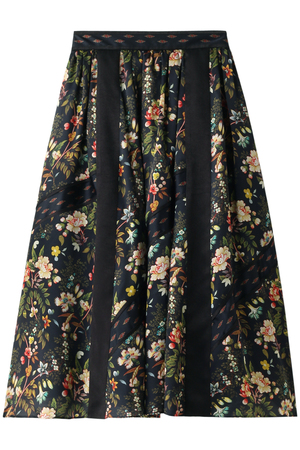 【予約販売】フラワーパイピングスカート ミュラー オブ ヨシオクボ/muller of yoshiokubo