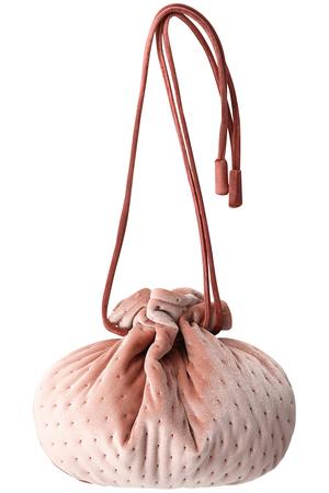 【予約販売】ベロアベリー 巾着ポシェット ラドロー/LUDLOW