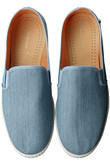 【MEN】【RIVIERAS LEISURE SHOES】Light Blue Jean マルティニーク/martinique