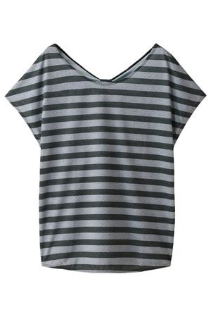 【Coral veil】ボーダーTシャツ レイール/Reir