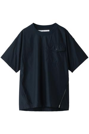 【MEN】 ラウンドネックショートスリーブシャツ White Mountaineering