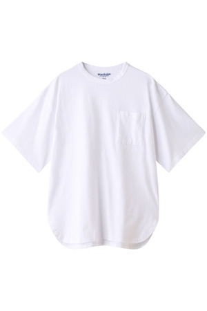 【MEN】 【Warderobe】オーバーサイズTシャツ White Mountaineering