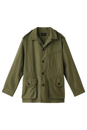 バックサテンファティーグジャケット アメリカンラグ シー/AMERICAN RAG CIE