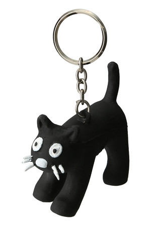 【DETAIL】CHA CHA CAT-KEYRING アメリカンラグ シー/AMERICAN RAG CIE