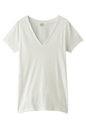 リバース天竺VネックTシャツ アメリカンラグ シー/AMERICAN RAG CIE