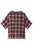 【MEN】オンブレ布帛Tシャツ アメリカンラグ シー/AMERICAN RAG CIE