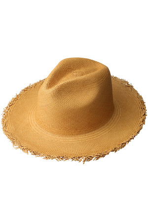 【MEN】【SANFRANCISCO HAT】BRISTA FEDRA FRAYED アメリカンラグ シー/AMERICAN RAG CIE