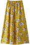 【予約販売】【navasana】フラワープリントスカート アメリカンラグ シー/AMERICAN RAG CIE