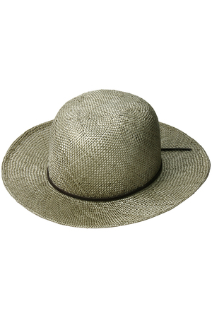 【MEN】【HOBO】NATURAL GRASS HAT アメリカンラグ シー/AMERICAN RAG CIE