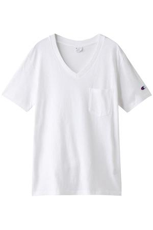 【MEN】【CHAMPION】7デイズVネックTシャツ アメリカンラグ シー/AMERICAN RAG CIE