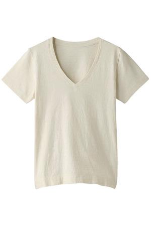 コットンVネックTシャツ ガリャルダガランテ/GALLARDAGALANTE