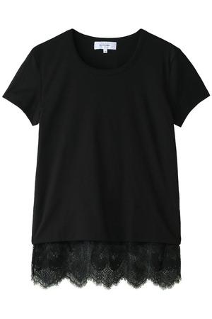 裾レースTシャツ カルヴェン/CARVEN