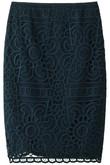 サンフラワー刺繍スカート アドーア/ADORE