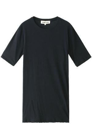 ハイゲージコットンルーズ5分Tシャツ エンフォルド/ENFOLD