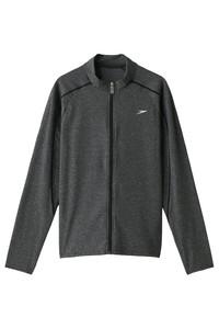 <ELLE SHOP> Speedo スピード メンズ(MENS)【PLAY & FUN】メンズアクアシャツ ミックスブラック