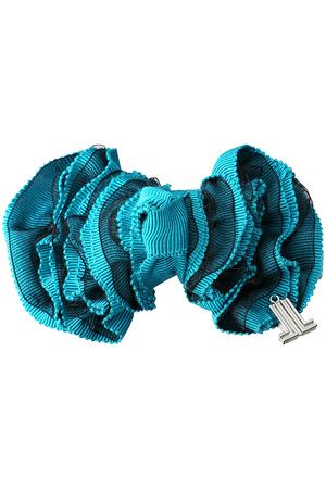 フリルリボンクリップ ランバン オン ブルー/LANVIN en Bleu