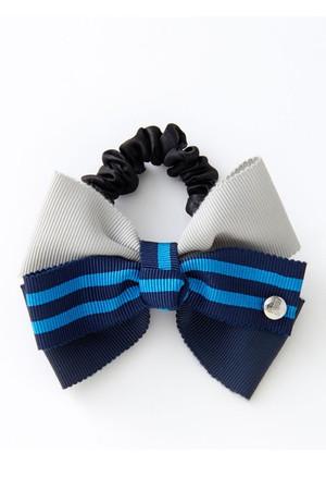 【予約販売】トリコロールリボンシュシュ ランバン オン ブルー/LANVIN en Bleu