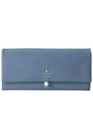 シャペル かぶせ型長財布 ランバン オン ブルー/LANVIN en Bleu