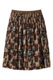 roll roseスカート