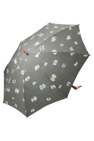 【ELLE 70周年限定】hana hane折りたたみ晴雨兼用傘