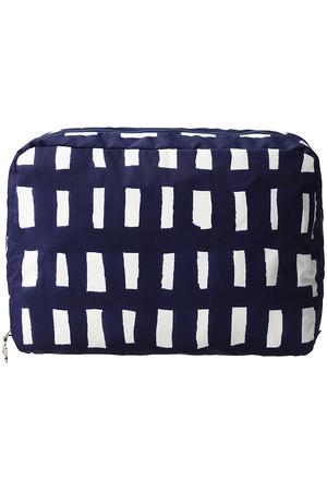 sora check traveler's pouch S ポーチ ミナ ペルホネン/mina perhonen