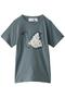 【Kids】swan petit Tシャツ ミナ ペルホネン/mina perhonen ブルーグレー