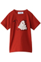 【Kids】swan petit Tシャツ ミナ ペルホネン/mina perhonen レッド