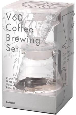 【HARIO】V60コーヒーブリューイングセット センプレ/SEMPRE