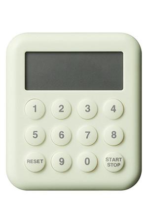 デジタル10キータイマー ベージュ (±0 プラスマイナスゼロ) センプレ/SEMPRE