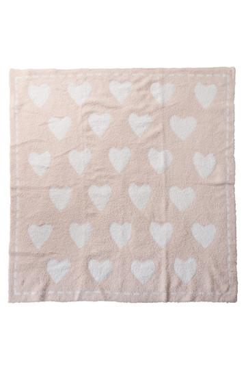 BAREFOOT DREAMS ベアフットドリームズ 【Baby & Kids】コージーシックブランケット(76x76) ピンク