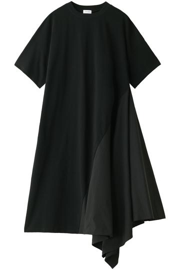 REKISAMI レキサミ サイドフレアロングTシャツ ブラック