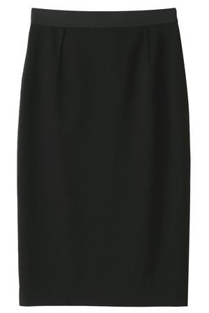 コットン/ポリエステルジャージタイトスカート プレインピープル/PLAIN PEOPLE