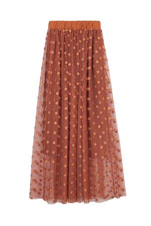 【予約販売】カットワーク刺繍チュールスカート ザ ヴァージニア/The Virgnia