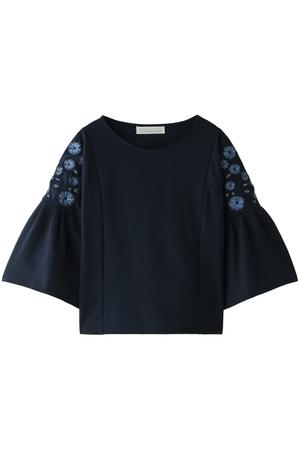 【予約販売】肩刺繍フレアスリーブカットソー トランテアン ソン ドゥ モード/31 Sons de mode