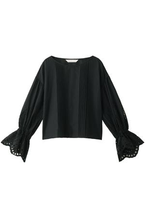 【予約販売】フロントピンタック袖刺繍ブラウス トランテアン ソン ドゥ モード/31 Sons de mode
