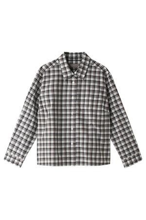SALE 【50%OFF】 MARGARET HOWELL マーガレット・ハウエル チェックシャツ ブラウン