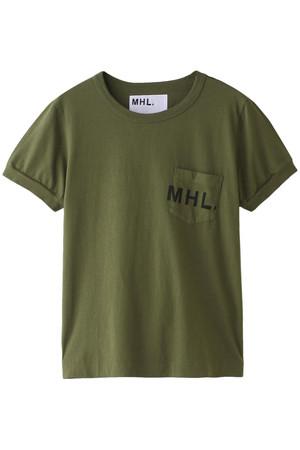 【MHL.】プリントTシャツ マーガレット・ハウエル/MARGARET HOWELL